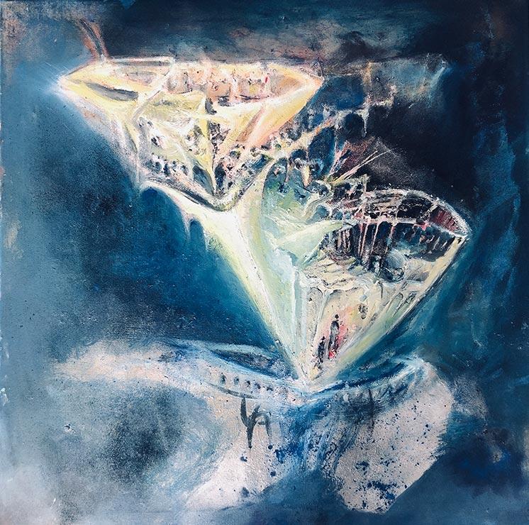 Arbeit von Irmgard Gassmann